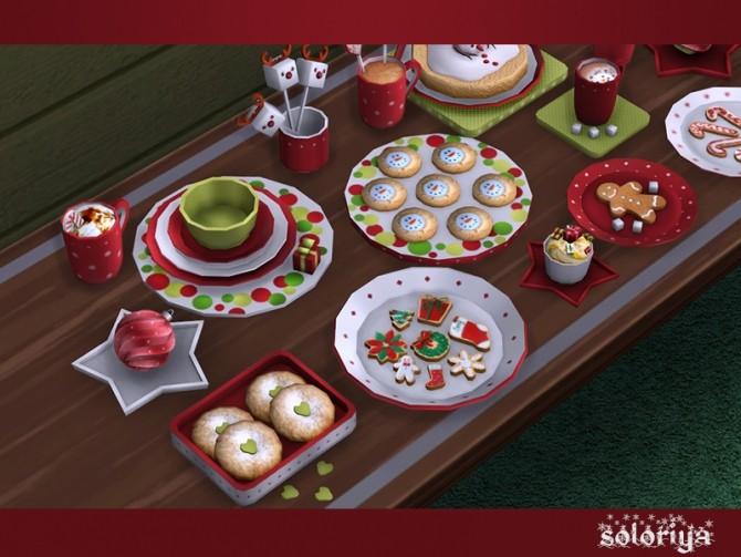 Be Merry deco set at Soloriya image 9110 670x503 Sims 4 Updates