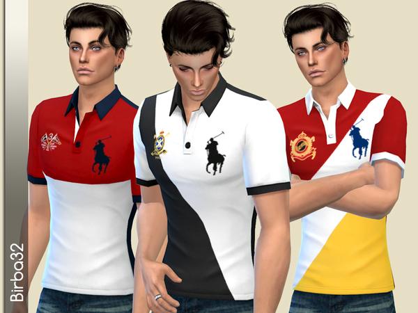 Sims 4 RL Polo by Birba32 at TSR