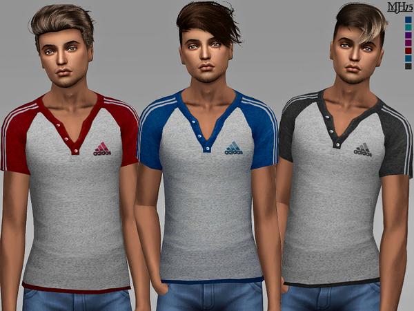Sims 4 Ciaran Tops by Margeh 75 at TSR