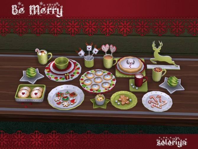 Be Merry deco set at Soloriya image 925 670x503 Sims 4 Updates