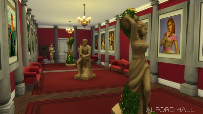 Alford Palace by yourjinthemiddle at Mod The Sims image 93 670x377 Sims 4 Updates