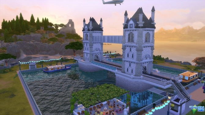 Tower Bridge by Millyraspberry21 at L\'UniverSims » Sims 4 Updates
