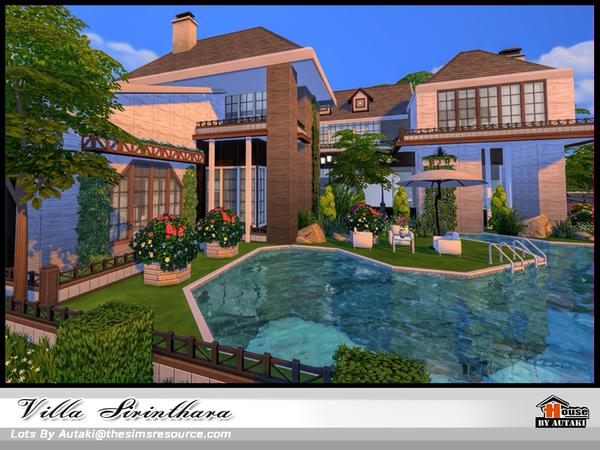 Villa Sirinthara by autaki at TSR image 950 Sims 4 Updates