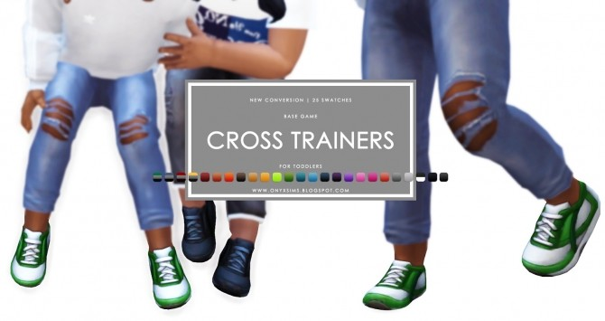 Toddler Cross Trainers at Onyx Sims image 957 670x355 Sims 4 Updates