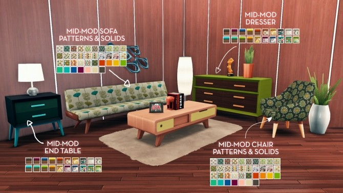 Sjane's Mid Mod Birthday Set at The Plumbob Tea Society image 9612 670x377 Sims 4 Updates