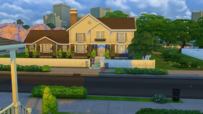 Sims 4 The Elms house by Asmodeuseswife at Mod The Sims