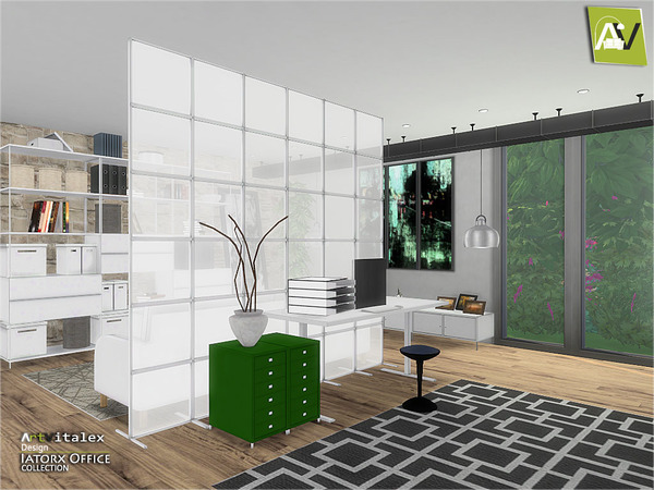 Iatorx Office by ArtVitalex at TSR image 974 Sims 4 Updates