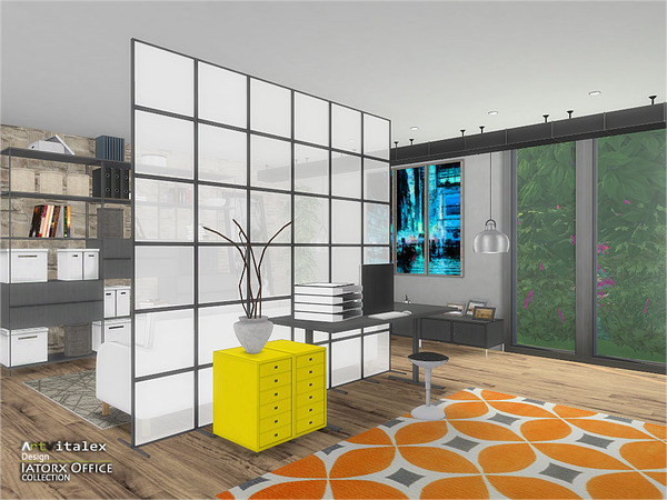 Iatorx Office by ArtVitalex at TSR image 984 Sims 4 Updates