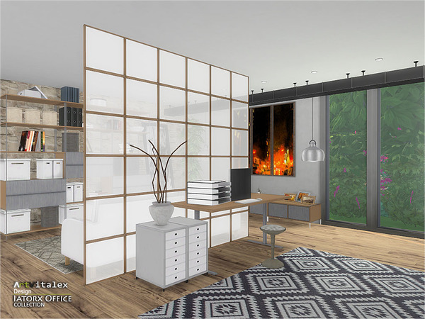 Iatorx Office by ArtVitalex at TSR image 994 Sims 4 Updates