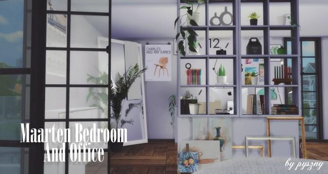 Maarten Bedroom & Office at Pyszny Design image 10116 670x355 Sims 4 Updates