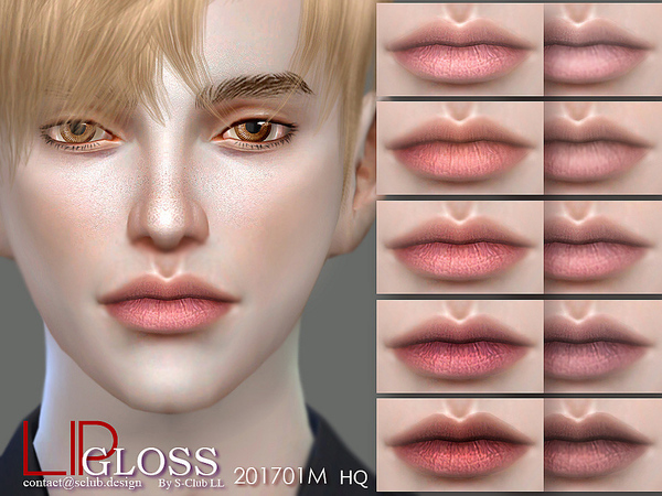 Lip 201701M by S Club LL at TSR image 1020 Sims 4 Updates