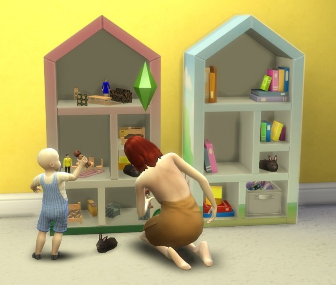 Toddler Dollhouse by BigUglyHag at SimsWorkshop image 10210 670x567 Sims 4 Updates