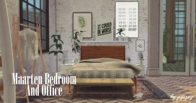 Maarten Bedroom & Office at Pyszny Design image 10313 670x355 Sims 4 Updates