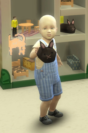 Toddler Dollhouse by BigUglyHag at SimsWorkshop image 1038 Sims 4 Updates