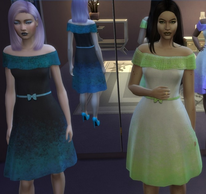 Sims 4 Brillante Dress Pack by Uberkid at Mod The Sims