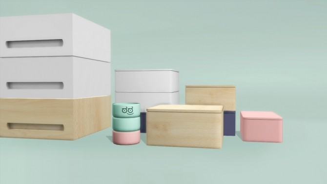 Compact kitchen accessories at Slox image 1066 670x377 Sims 4 Updates
