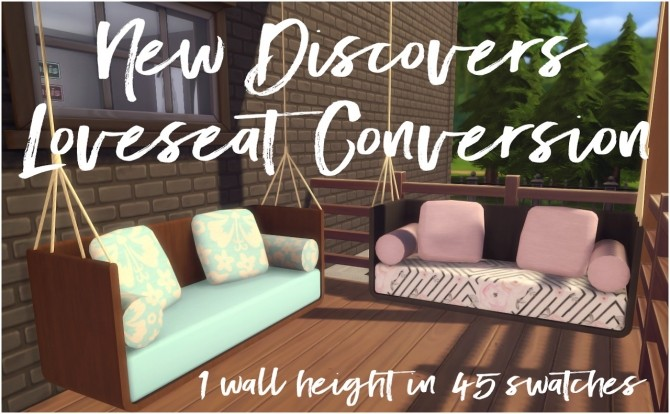 New Discovers Loveseat by Sympxls at SimsWorkshop image 1067 670x414 Sims 4 Updates