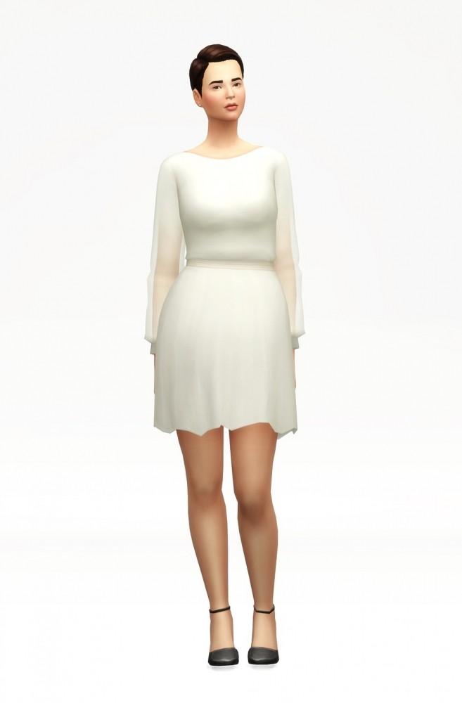 Long sleeve dress at Rusty Nail image 1081 657x1000 Sims 4 Updates