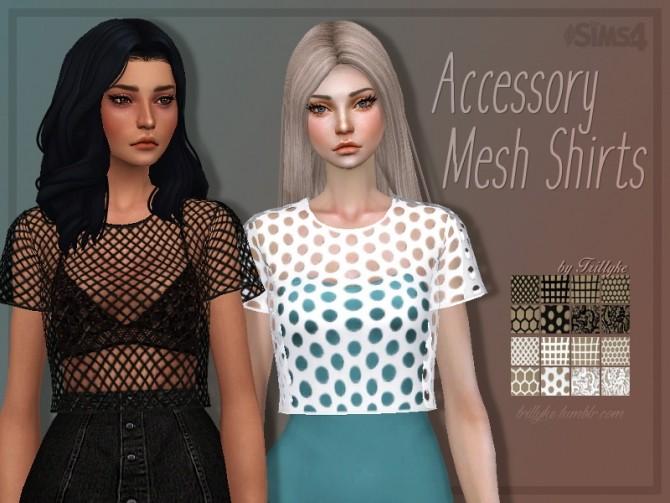Sims 4 Mesh shirt acc at Trillyke