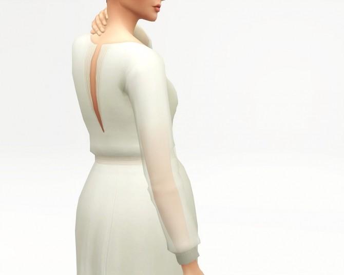 Sims 4 Long sleeve dress at Rusty Nail