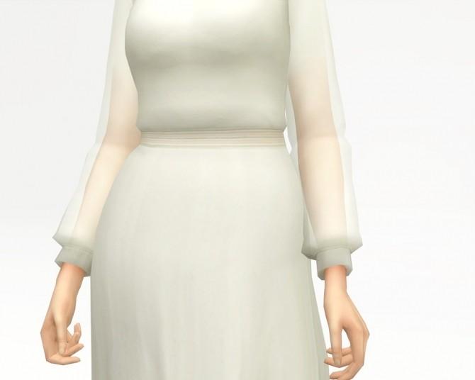 Long sleeve dress at Rusty Nail image 1101 670x536 Sims 4 Updates
