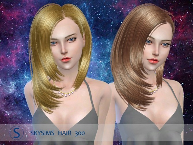 Hair 300 by Skysims (pay) at Butterfly Sims image 1108 670x503 Sims 4 Updates