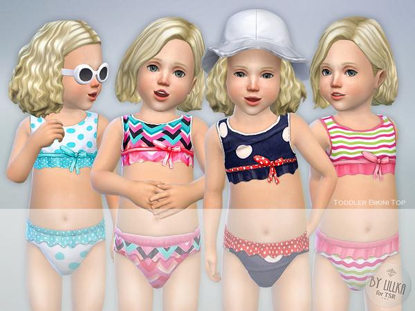 Sims 4 Toddler Bikini Set P01 by lillka at TSR