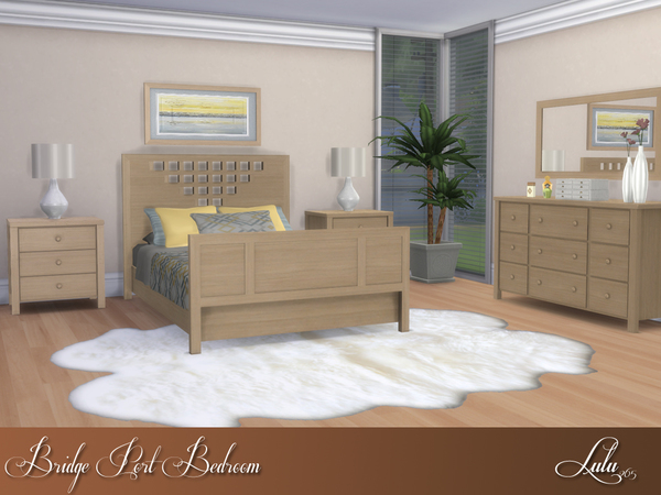 Bridge Port Bedroom by Lulu265 at TSR image 1114 Sims 4 Updates