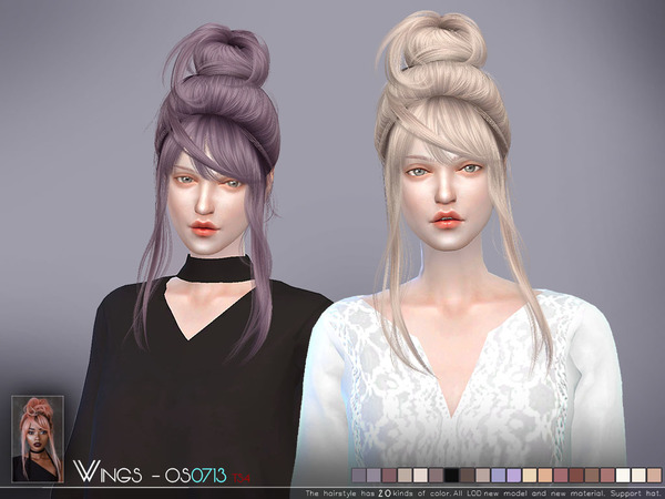 Hair OS0713 by wingssims at TSR image 1119 Sims 4 Updates