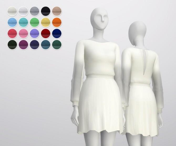 Long sleeve dress at Rusty Nail image 1131 670x555 Sims 4 Updates
