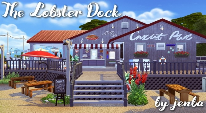 The Lobster Dock seafood restaurant at Jenba Sims image 1134 670x367 Sims 4 Updates