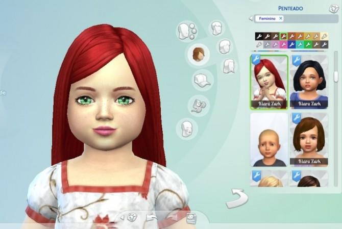 Sims 4 Melodious Hair T at My Stuff
