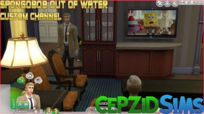 Spongebobob Out of Water Custom Channel by cepzid at SimsWorkshop image 1151 670x377 Sims 4 Updates