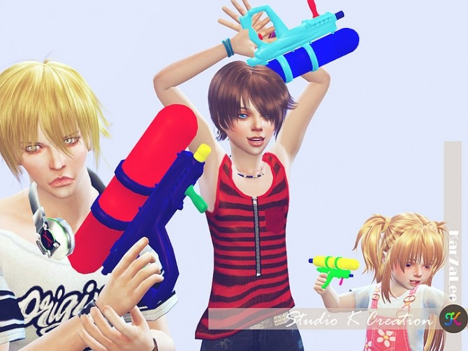 Water gun for all ages at Studio K Creation image 11511 670x502 Sims 4 Updates