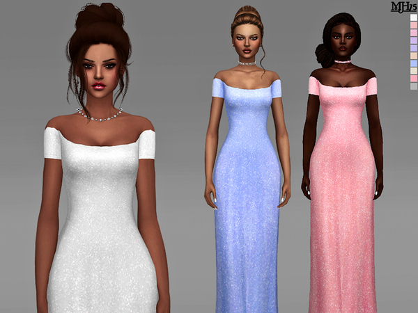 Jessica Dress by Margeh 75 at TSR image 1160 Sims 4 Updates