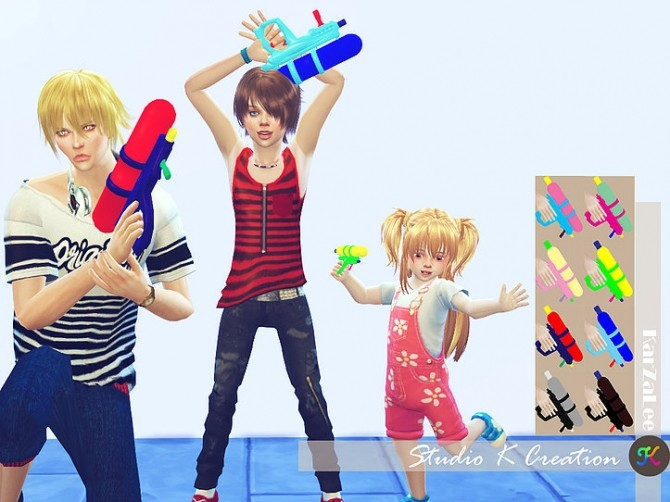 Water gun for all ages at Studio K Creation image 11611 670x502 Sims 4 Updates