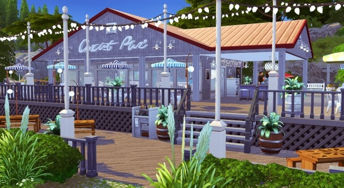 The Lobster Dock seafood restaurant at Jenba Sims image 1163 670x367 Sims 4 Updates