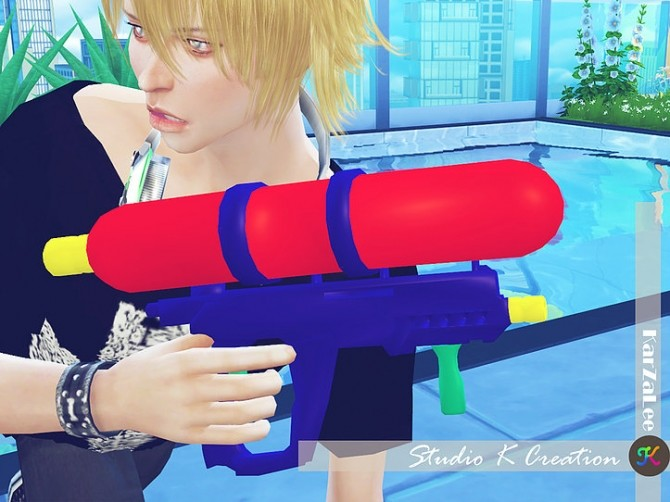 Water gun for all ages at Studio K Creation image 11711 670x502 Sims 4 Updates