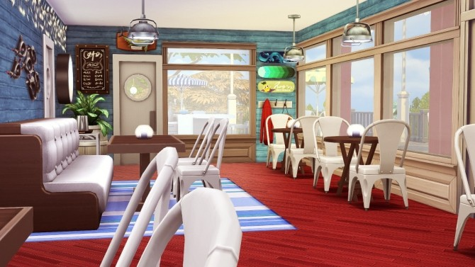 The Lobster Dock seafood restaurant at Jenba Sims image 1173 670x377 Sims 4 Updates