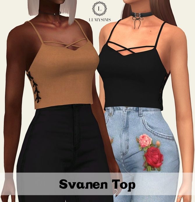 Svanen Top At Lumy Sims 187 Sims 4 Updates