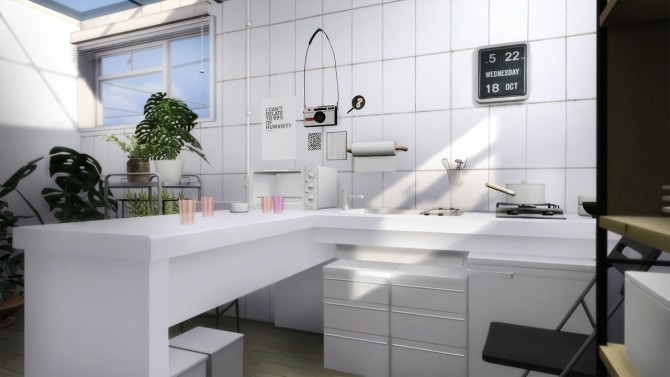 Compact kitchen at Slox Sims 4 Updates
