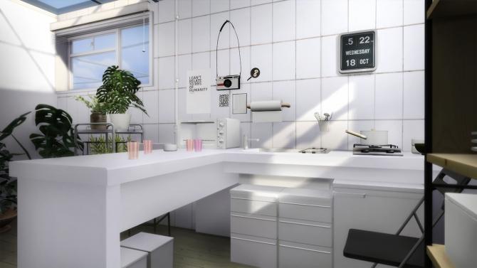 Compact Kitchen At Slox 187 Sims 4 Updates