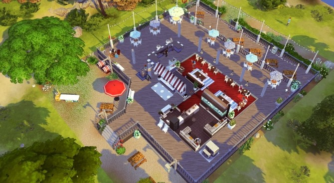 The Lobster Dock seafood restaurant at Jenba Sims image 1193 670x367 Sims 4 Updates