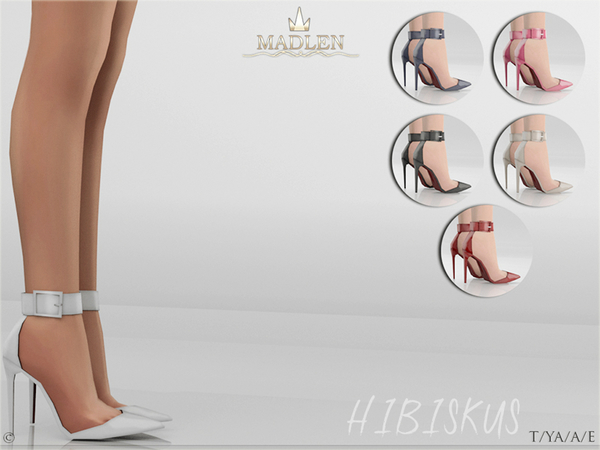 Madlen Hibiskus Shoes by MJ95 at TSR image 1209 Sims 4 Updates