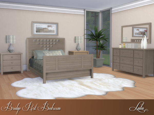 Bridge Port Bedroom by Lulu265 at TSR image 1214 Sims 4 Updates