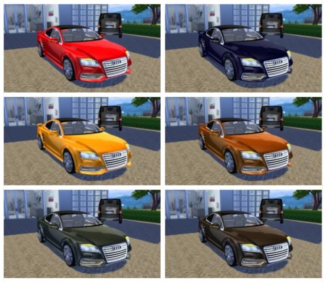 Audi R7 Concept Coupé at OceanRAZR image 1216 670x581 Sims 4 Updates