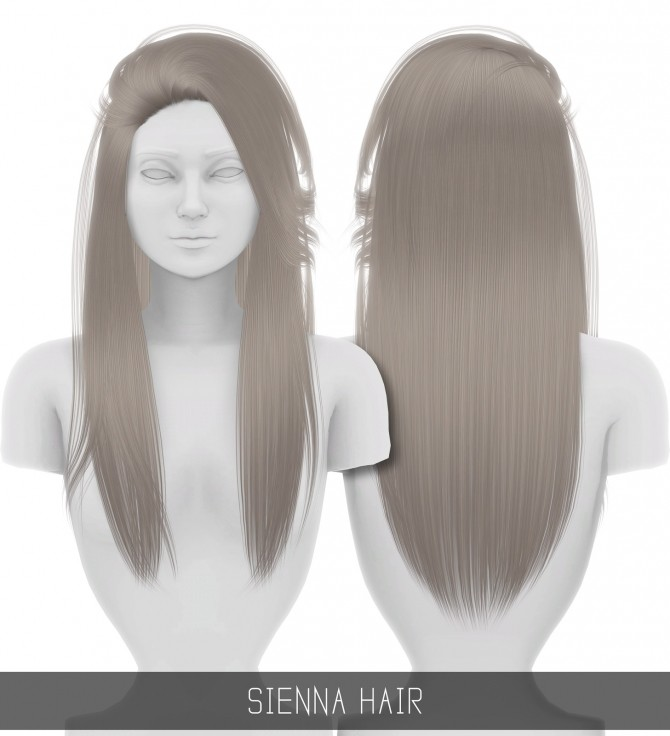 SIENNA HAIR at Simpliciaty image 12210 670x736 Sims 4 Updates