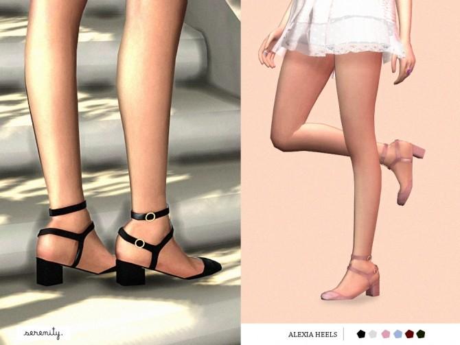 Alexia Heels at SERENITY image 1233 670x503 Sims 4 Updates