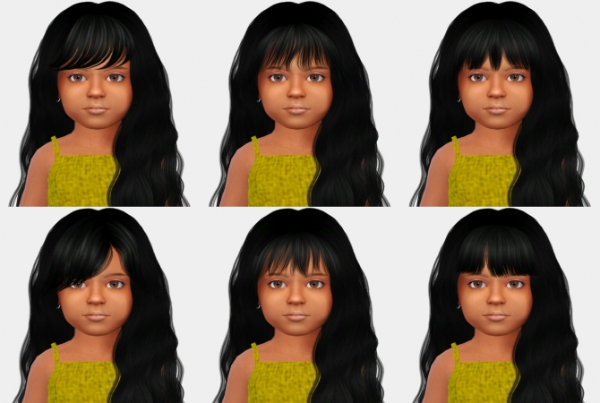 Bangs For Toddlers At Simiracle 187 Sims 4 Updates