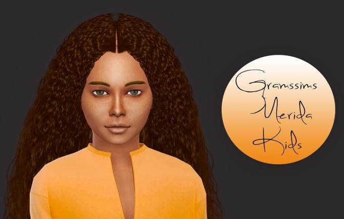 Gramssims Merida Kids Version At Simiracle 187 Sims 4 Updates
